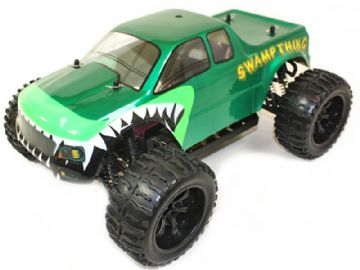 Radio Control Monster Truck SWAMP THING 4WD 1-10 Scale 7.2v Electric PRO series RC Model